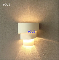 Modern Fashion Design Wall Lamp IKEA Furniture Headboard Led Wall Light Bedroom Sconce Hallway Living Room Mirror Front Lamps