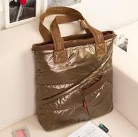 2014 Sac Desigual Winter Cotton Handbag Fashion Women handbags women shoulder bag Warm handbag Leisure feather tote 3 color