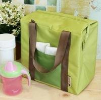Large Waterproof Lunch Bag Ice Cooler Insulation Picnic Handbag Travel Storage Bag Wholesale