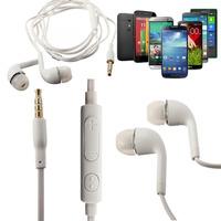 in-Ear Remote & Mic Handsfree Headphone Earphone Earplug For Samsung Galaxy S5 S4 S3 S2 i9500 i9300 i9100 Note 2 N7100 N7000