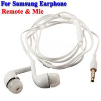 20 pcs in-Ear Remote with Mic Handsfree Headphone Earphone Earplug For Samsung Galaxy S5 S4 S3 S2 i9500 i9300 i9190 Note 2 N7100