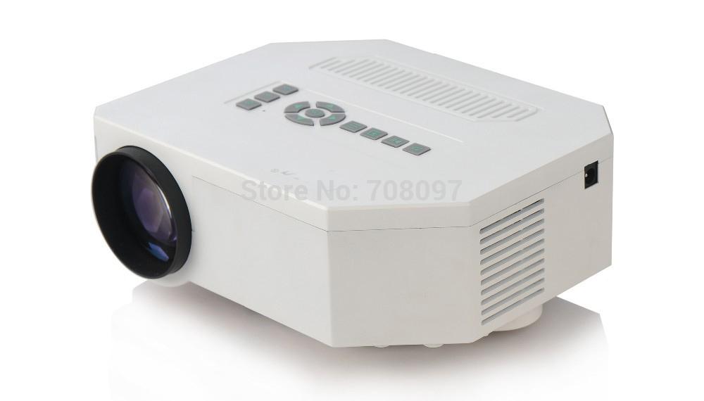 [해외]PC 용 UC30 프로젝터 미니 LED 프로젝터 HDMI 홈 시어터..