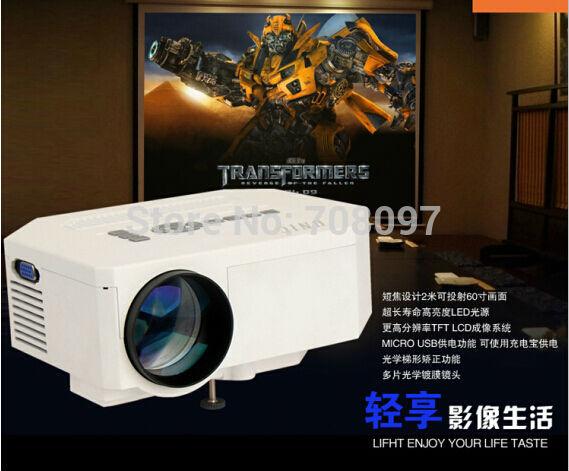 [해외]핫 판매 미니 projetor는 비디오 게임 TV 영화 지원 AV / ..