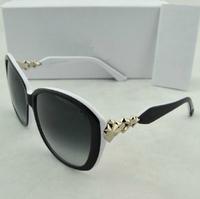 New sw female luxury big star band hipster glasses box star model sunglasses