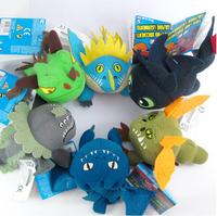 1pcs Choose Freely  Dragon Plush Toy Stuffed Doll Toothless Night Fury  Christmas Gift Freeshipping