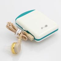 High quality fashion white blue convenient health ear care voice sound amplifier hearing aid aids  129+-4 dB