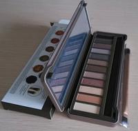 2014 Hot New Fashion nake Makeup 12 Colors nk2 Matte Eye Shadow Palette 1pcs 2 Eyeshadow Lot China Post Free Shipping