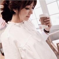 Maternity clothing maternity top maternity shirt autumn female long-sleeve