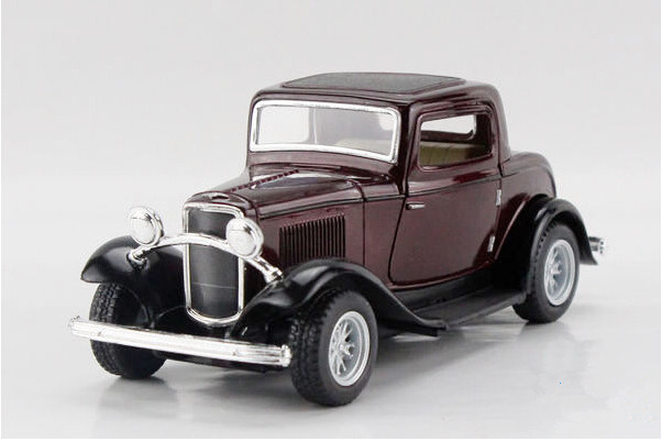 Free shipping Kinsmart 1:34 FORD 1932 Classic car Alloy model toys Leap to jump Children like the gift(China (Mainland))