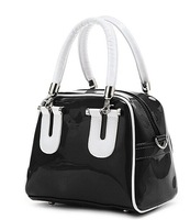 FREE SHIPPING 2014 new patent leather fashion handbags candy color portable satchel bright skin lovely fashionista handbag