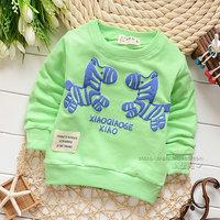 2014 autumn Free Shipping 100% Cotton Fashion cute horse print Children T Shirts,Kids Boys Tops,Child Tees Clothing 4pcs/lot