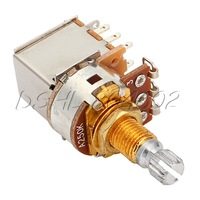 3PCS A250k Pots Push Pull Pot With 18mm Gold Plated Shaft For Control Knobs