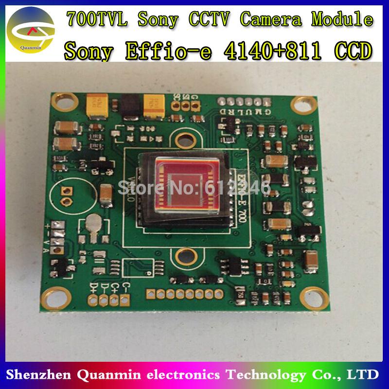 "1/3"" SONY CCD Effio 700TVL 4140+811 cctv camera module CCD PCB Board,cctv camera board,camera module with OSD Menu(China (Mainland))"