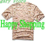 Men Summer Short Sleeve Cotton Military Tactical T Shirt Outdoor Cycling Camping Sports T-shirts Digital Desert Camo