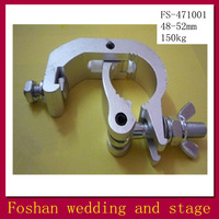 Free Shipping aluminium pipe clamp,work light with hook,flexible metal hook