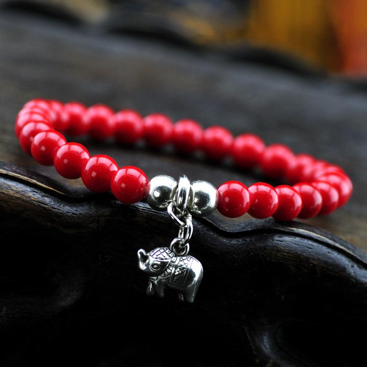 2014 Sale Real Pulseira Masculina Pulseiras Femininas Excellent Quality Beads Miao Circleof Bracelet Women National Accessories(China (Mainland))