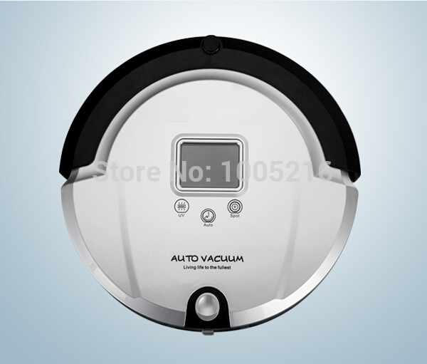 4 In 1 Robot Vacuum Cleaner Automatic With Mopping Function, Self Charging,Virtual Wall,UV Lamp Sterilizer Floor Vacuum Cleaner(China (Mainland))