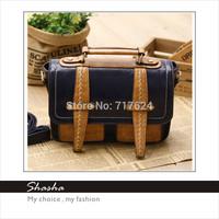 Bag 2014 new wave packet England College Wind retro messenger bags Sen female Shoulder Messenger Handbag