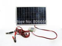10w 18V Solar Panel Off-Grid Solar System Complete Kit For DC 12v Appliance *