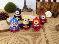 5 style cartoon superman super heros minions usb memory stick pen drive 2gb 4gb 8gb 16gb usb flash drive gift
