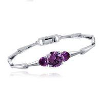 Trendy charm bracelet gemstone   fashion  bracelet