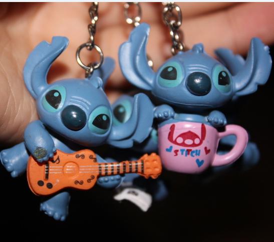 wholesale new kpop shinee kawaii cute 20pcs/lot Cartoon animal Beautiful The Star baby key chains ring(China (Mainland))