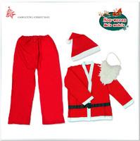 Christmas Party Supplies High-grade Non-woven Non-woven Adult Men's Clothing Christmas Costumes Free Shipping