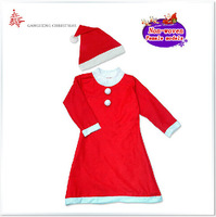 Christmas Party Supplies High-grade Non-woven fabric Adult women's Clothing Christmas Costumes Free Shipping