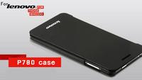 For Lenovo P780 mobile phone sets, P780 genuine leather cell phone case, For Lenovo P780 smart phone holster Sleep Free Shipping