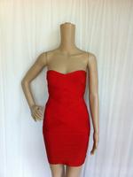 Free shipping Top quality 2014 vestidos de festa vestido longo kim kardashian dresses HL bandage dress celebrity dresses