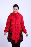 Casacos Femininos Plus Size Clothing XXXL,XXXXL,5XL New Middle-Aged Women Long Hooded Winter Coat Women