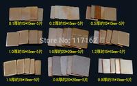 5 Sets Pure Copper Heatsink Shim Pad Kit For Laptop CPU GPU Repair Kit 9 kinds 45 pcs