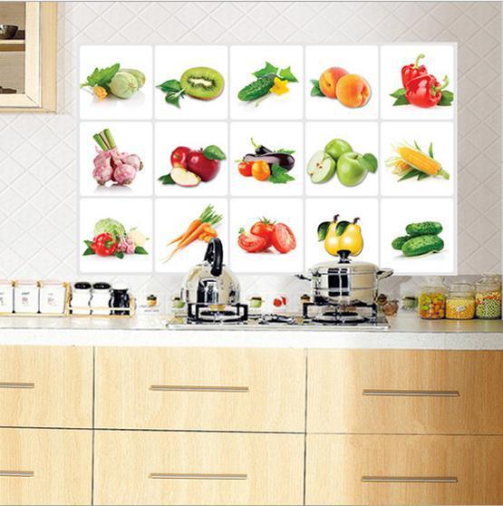Keuken Decoratie Folie : sticker in de keuken muur, keuken keramische tegels hd410 stickers