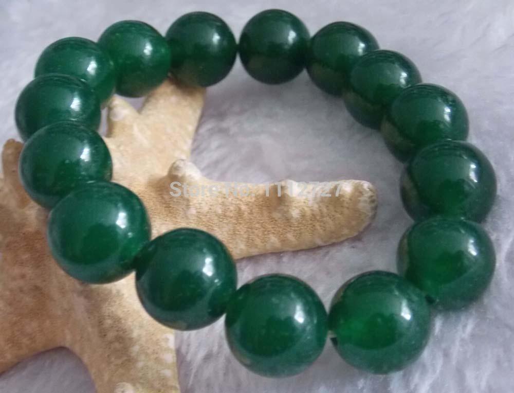 2014 12mm Elegant Green Emerald Round fashion Jasper Jewelry Beads Bracelet Natural Stone 7.5''BV263 Wolesale Price(China (Mainland))