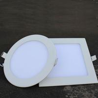 Free Shipping  Hot Ultra Thin 3W 4W 6W 9W 12W 15W 18W LED Downlight / Round Panel Light