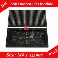 Factory Price! Indoor P7.62  RGB Dot-matrix Video LED Panel Module 1/8 Scan High Quanlity