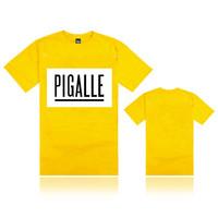 2014 European street PIGALE PYREX t-shirts short seeve tees tops Newest Designer t-shirt men/women t-shirt size s-xxxl