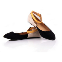 Free shipping !! Women's New buckle flat shoes,cheap price, plus size, 36~41