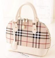 Autumn new Korean fashion handbags Plaid shell handbag shoulder bag handbags wholesale handbags trade