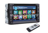 7 INCH Double 2 Din Car DVD Player FM AM Radio Ipod TV Bluetooth Call Music Video Audio In Deck Stereo BT PC Head Unit GPS Optio