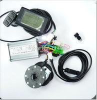 24V E-bike LCD display for e-bike LCD panel+ocntroller+PAS