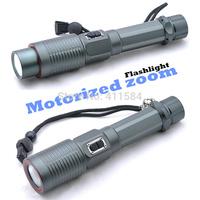 Motorized zoom Magnetic charging interface CREE XM-L U2-01