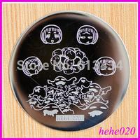 Free Shipping   8pcs/lot  hehe020  Konad Image Plate hehe001-048