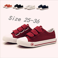 5 Color 2014 New Arrived All Seasons Low Help Kids Children Girls Boys Shoes Canvas Shoes Casual Shoes  Free Shipping