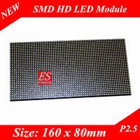 2014 New! P2.5 HD Video LED Display Module Size 160 x 80 pixels Premium Quality Small Pixel Pitch 16000 dots/sqm