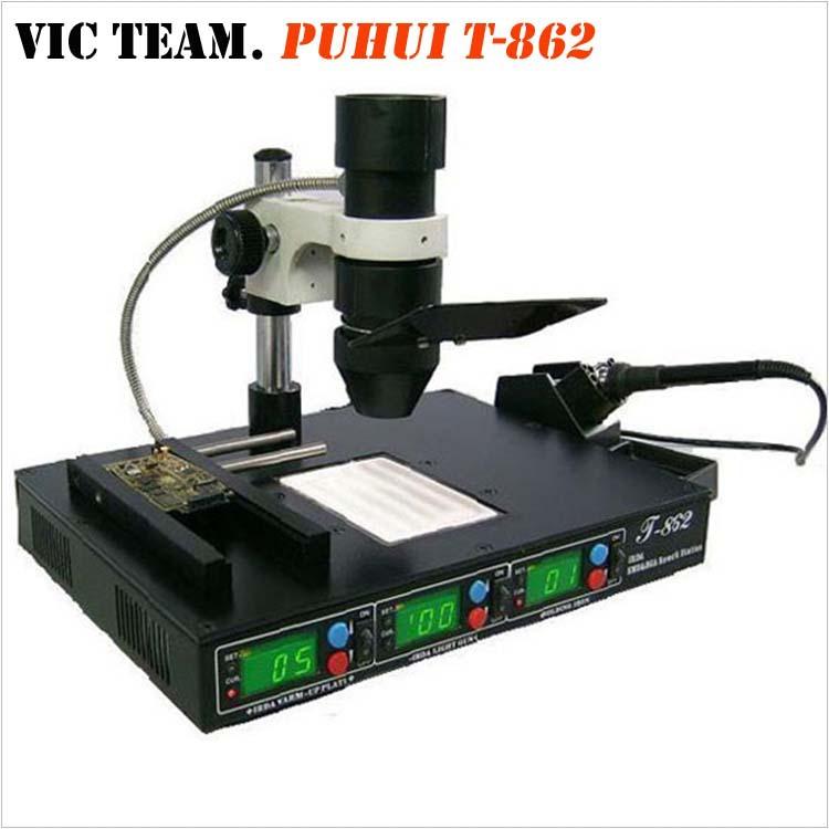 PH001 Puhui T-862 Infrared IR BGA rework station Soldering Station Infrared welding machine(China (Mainland))