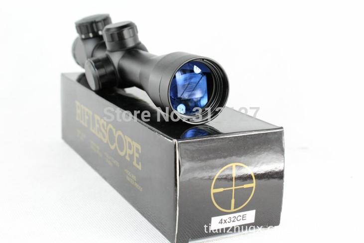 Винтовочный оптический прицел 4 X 32 4x32CE
