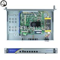 6 LAN 1U Atom D2550 Rackmount Networking firewall Server