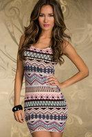 free shipping O-Neck sheath mini club dresses plus size fashion women dress hot selling