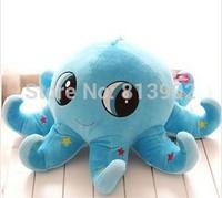 Cute cartoon color stars big eyes octopus doll plush toys children toy doll birthday gift